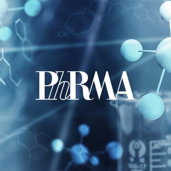 PhRMA logo graphic