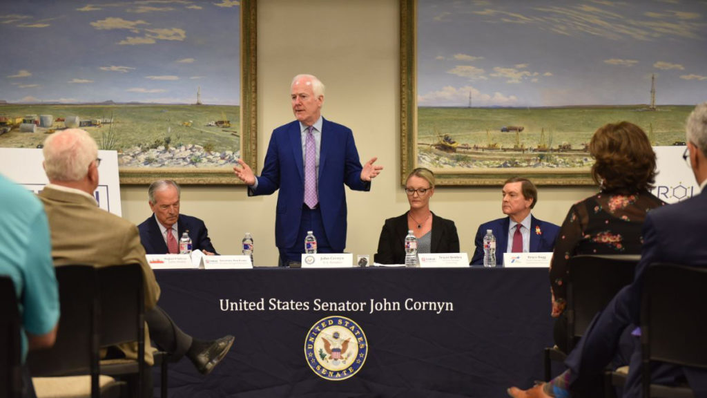 Permian Strategic Partnership John Cornyn