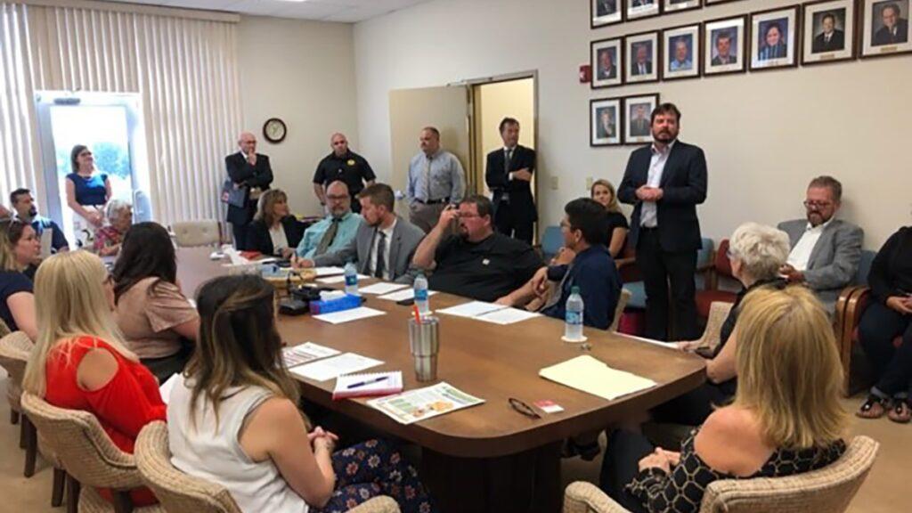 Permian Strategic Partnership meeting room