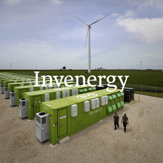 Invenergy battery storage and wind energy